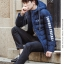 Trendy cotton winter jacket 2nd Edition (สีน้ำเงิน) thumbnail 1
