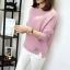 เสื้อกันหนาว Sweater authum N winter women (สีชมพู) thumbnail 3
