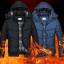 เสื้อกันหนาวคุณภาพดี High quality men's winter wear jacket (สีน้ำเงิน) thumbnail 3