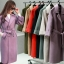 เสื้อโค้ท PASSM คุณภาพดีผ้า Wool กันหนาว (สี Beige) thumbnail 13