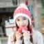Winter korean hat with ear protection ( มี 4 สี ) thumbnail 2