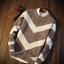 Men's sweater กันหนาวไหมพรม (สีเทาอ่อน) thumbnail 3