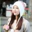 Winter korean hat with ear protection ( มี 4 สี ) thumbnail 3