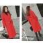 เสื้อโค้ท PASSM คุณภาพดี ผ้า Wool กันหนาว (สีแดง) thumbnail 2