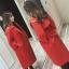 เสื้อโค้ท PASSM คุณภาพดี ผ้า Wool กันหนาว (สีแดง) thumbnail 1