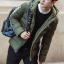 เสื้อกันหนาว Trendy cotton winter jacket 2nd Edition (สีเขียว) thumbnail 3