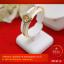 RTN614 กำไลแชกงหมิวทองคำ ประดับเพชร V.8 เส้นผ่านศูนย์กลาง 2.5 นิ้ว thumbnail 1