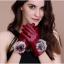 ถุงมือหนัง PU Collar lady glove (สีแดง) thumbnail 1