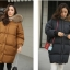 Bread down jacket korean style ( Black ) thumbnail 1