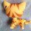 แมว สีส้มลายเสือ #1451 (หายาก) thumbnail 2