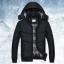 เสื้อกันหนาวคุณภาพดี High quality men's winter wear jacket (สีดำ) thumbnail 1
