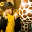 ผ้าพันคอถักไหมพรม (Yellow) thumbnail 1