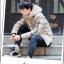 Trendy cotton winter jacket 2nd Edition (สีครีม) thumbnail 4