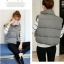 Women's winter vest jacket (Grey) thumbnail 5