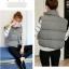 Women's winter vest jacket (Grey) thumbnail 5