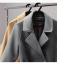 เสื้อโค้ท PASSM คุณภาพดีผ้า Wool กันหนาว (สี Beige) thumbnail 12