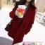 เสื้อโค้ท Winter autume woolen coat tide สีแดง thumbnail 2