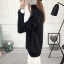 SUMIYA women sweater กันหนาว คุณภาพดี (สีดำ) thumbnail 2