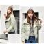 Korean women's winter jacket (Beige) thumbnail 3