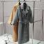 เสื้อโค้ท PASSM คุณภาพดีผ้า Wool กันหนาว (สี Beige) thumbnail 10