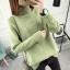 SUMIYA women sweater กันหนาว คุณภาพดี (สีเขียว) thumbnail 1