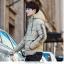 Trendy cotton winter jacket 2nd Edition (สีครีม) thumbnail 2