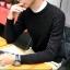 Super warm ticker men's sweater (สีดำ) thumbnail 6
