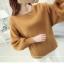Loose lantarn sweater (สีน้ำตาล) thumbnail 2