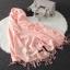 Imitation cashmere scarft ผ้าพันคอ (สีชมพู) thumbnail 3