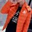 Clear special young men cotton jacket (สีส้ม) thumbnail 1