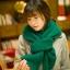 ผ้าพันคอถักไหมพรม (สีเขียว) thumbnail 2