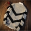 Men's sweater กันหนาวไหมพรม (สีเทาอ่อน) thumbnail 1