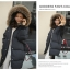Bread down jacket korean style ( Black ) thumbnail 3