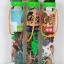 โมเดลสัตว์ โมเดลไดโนเสาร์ตุ๊กตาสัตว์ชุด 24 ตัว สำหรับเด็ก สำเนา thumbnail 1