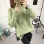 SUMIYA women sweater กันหนาว คุณภาพดี (สีเขียว) thumbnail 2