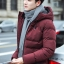 Trendy cotton winter jacket (สีแดง) thumbnail 1