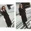 เสื้อโค้ท PASSM คุณภาพดี ผ้า Wool กันหนาว (สีดำ) thumbnail 2