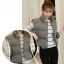 Women's winter vest jacket (Grey) thumbnail 2