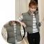 Women's winter vest jacket (Grey) thumbnail 2