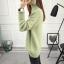 SUMIYA women sweater กันหนาว คุณภาพดี (สีเขียว) thumbnail 4