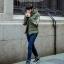 เสื้อกันหนาว Trendy cotton winter jacket 2nd Edition (สีเขียว) thumbnail 1