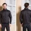 Men's Ultra light slim Down jacket ผสมขนเป็ด Duck down 90% !! (สีดำ) thumbnail 1