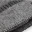 High quality winter wool hat หมวกไหมพรหมพร้อมผ้าพันคอ (สีดำ) thumbnail 5