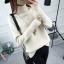 SUMIYA women sweater กันหนาว คุณภาพดี (สีครีม) thumbnail 1