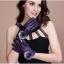 ถุงมือหนัง PU Collar lady glove (สีม่วง) thumbnail 1