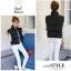 Women's winter vest jacket (Black) thumbnail 5