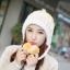 Winter korean hat with ear protection ( มี 4 สี ) thumbnail 4