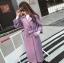 เสื้อโค้ท PASSM คุณภาพดี ผ้า Wool กันหนาว (สี lavender) thumbnail 1