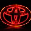 LFC018 LED Car Logo TOYOTA โลโก้ LED โตโยต้า มีให้เลือกสามสี แดง ขาว ฟ้า ยี่ห้อ OEM รุ่น