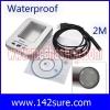 END008 กล้อง ไมโครสโคป สายยาว 2M 6.5Ft USB Borescope Endoscope Waterproof Inspection Snake Tube Video Camera ยี่ห้อ OEM รุ่น MCP2.0M